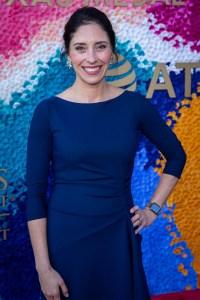 Heidi Marquez-Smith (TCT Executive Director) at the Texas Medal of Arts Awards Red Carpet, Long Center, Austin, TX 2/27/2019. © 2019 Jim Chapin Photography