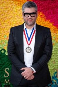 Brandon Maxwell (Design) at the Texas Medal of Arts Awards Red Carpet, Long Center, Austin, TX 2/27/2019. © 2019 Jim Chapin Photography