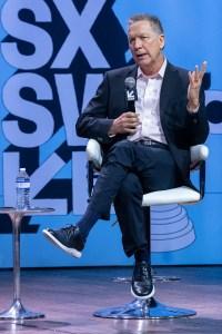 Former Ohio Gov. John Kasich at SXSW 2019, Austin, TX 3/9/2019. © 2019 Jim Chapin Photography