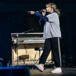 Hollyn at Winter Jam 2019 at H-E-B Center, Cedar Park, TX 3/3/2019. © 2019 Jim Chapin Photography