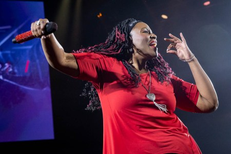Mandisa at Winter Jam 2019 at H-E-B Center, Cedar Park, TX 3/3/2019. © 2019 Jim Chapin Photography