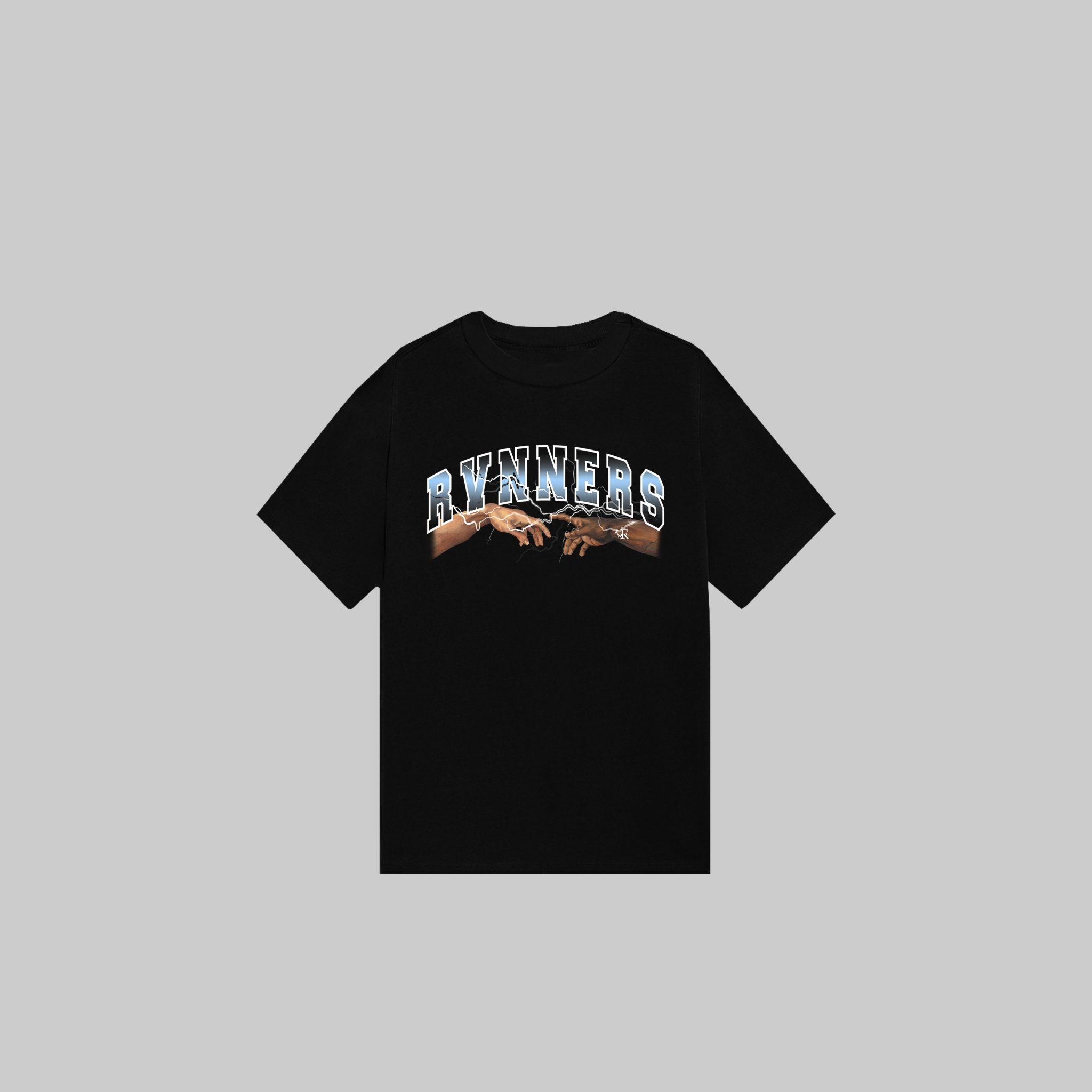 Rvnners Blue Unisex Short Sleeve Shirt