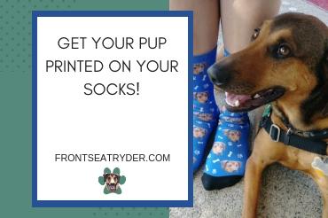 Custom Pup Socks!