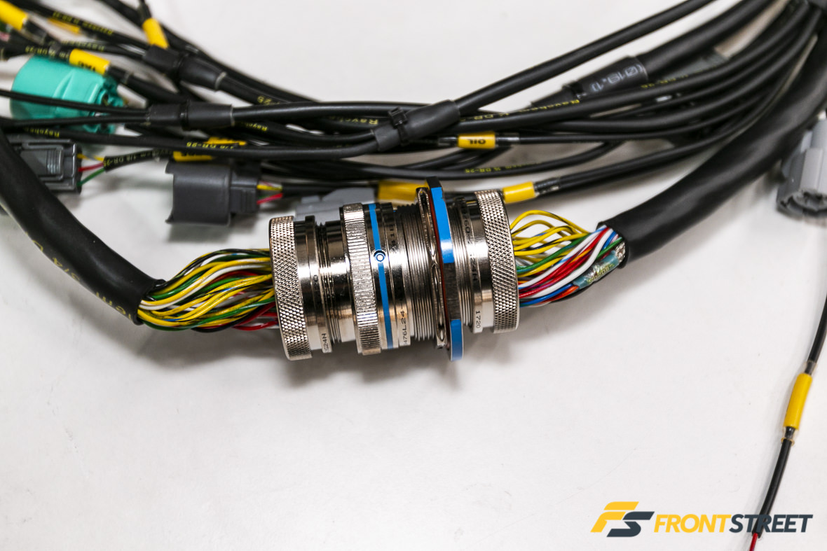 hight resolution of custom mil spec wire harnes