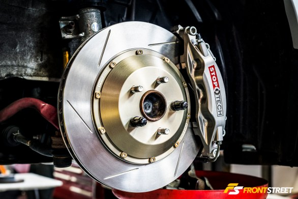 <i>Install:</i> StopTech Big Brake Kit - Scion FR-S