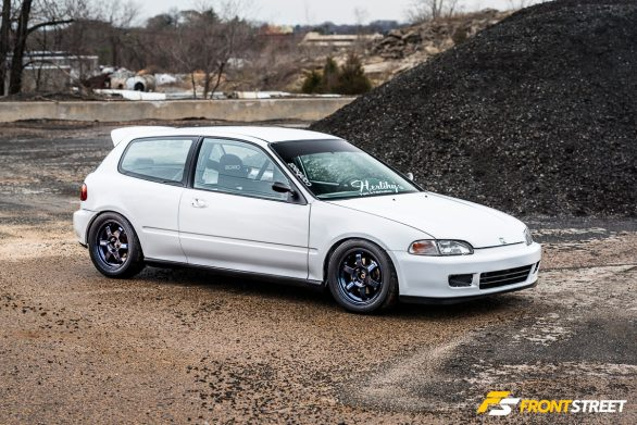 A Home-Built Honda Civic With Nine Lives