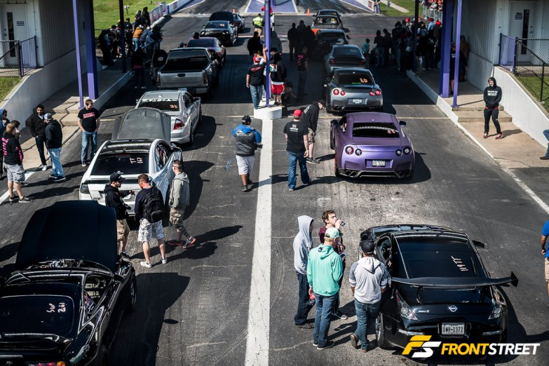 Strength In Numbers In The Pits At Houston's TX2K
