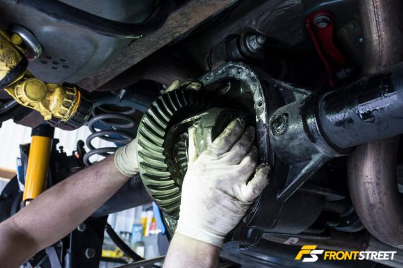 <i>Tech:</i> Ring And Pinion Install, 8.8-inch Ford Differential