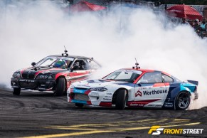 Formula Drift: Teammate on Teammate Tandem Battles in Seattle