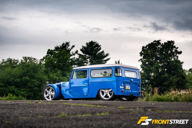 The Land Kreuzer: Not Your Average FJ40 Resto