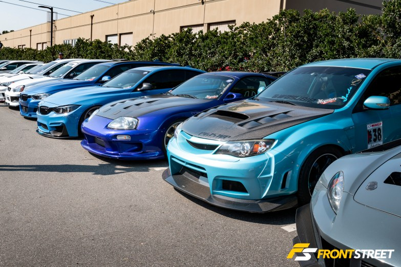 RAYS Tribute Car Meet 2018: Brand Loyalty on Display