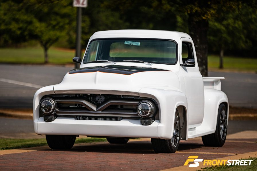 There's A Secret Lurking Under The Hood Of This Fat Fender Ford F-100