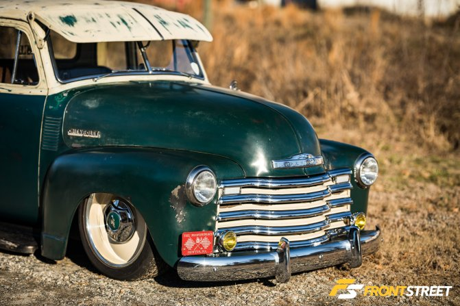 The Perfect Patina: Chris Yoder's Supercharged Chevy 3100 Finds New Life