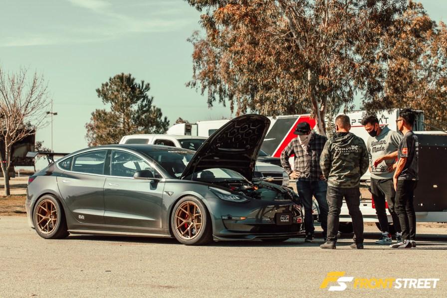 Dai Yoshihara Sets Lap Record In Evasive Motorsports Tesla Model 3