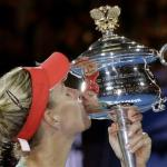 Kerber Upsets Serena Williams To Win Australian Title