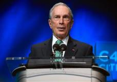 FILE - In this Dec. 3, 2015, file photo, former New York Mayor Michael Bloomberg speaks during the C40 cities awards ceremony, in Paris. Bloomberg is taking some early steps toward launching a potential independent campaign for president. That's according to three people familiar with the billionaire media executive's plans. They spoke on condition of anonymity because they weren't authorized to speak publicly for Bloomberg. (AP Photo/Thibault Camus, File)