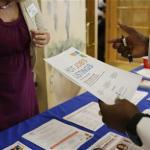 Applications For U.S. Jobless Benefits Rise To Still-Low Level