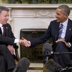 Peace Deal In Reach, Obama Says U.S. To help Colombia Rebuild