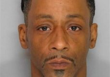 This police booking photo released  by the Gainesville Police Department on Monday, March 1, 2016 shows comedian Katt Williams after being arrested following an alleged altercation with an employee of a pool supply business. Hall County sheriff's Deputy Nicole Bailes said in an email that Williams faces a misdemeanor battery charge and was being held on $5,000 bond.  (AP Photo/Gainesville Police Department)
