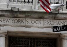 FILE - This Thursday, Oct. 2, 2014, file photo shows the Wall Street entrance of the New York Stock Exchange. Global stocks mostly slipped Friday, March 3, 2017, as investors awaited a speech by Federal Reserve chair Janet Yellen later in the day (AP Photo/Richard Drew, File)