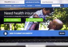 """FILE - In this Feb. 9, 2017, file photo, the HealthCare.gov website, where people can buy health insurance, is displayed on a laptop screen in Washington. President Donald Trump and Republican leaders say drastic action is needed because """"Obamacare"""" is a disaster, with soaring premiums and insurers headed for the exits. But while major parts of the 2010 health care law are clearly troubled, others are working fairly well. The risk is that the GOP's """"rescue mission"""" will inflict collateral damage on what's working and create new problems. Or that promised solutions might disappoint. (AP Photo/Andrew Harnik, File)"""