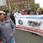 Thousands Rally In U.S. For Workers, Immigrants, Against Trump