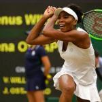 At 37, Venus Williams Into 10th Wimbledon Semi; Konta Next