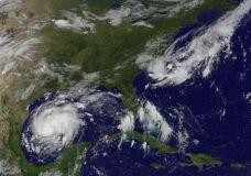 Increasingly Menacing Hurricane Harvey Aims At Texas Coast