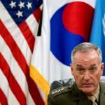 Top U.S. Military Officer Warns NKorea That U.S. Military Ready