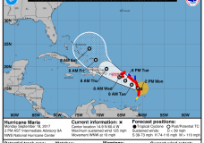 Maria Grows To A Cat 3, Nears Already Battered Caribbean