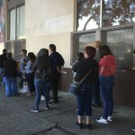 Immigrants Line Up To Renew Work Permits As Program Ends