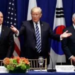 Trump Meeting On North Korea Threat