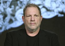 """FILE - In this Jan. 6, 2016 file photo, producer Harvey Weinstein participates in the """"War and Peace"""" panel at the A&E 2016 Winter TCA in Pasadena, Calif. Weinstein is on indefinite leave from his film company pending an internal investigation into sexual harassment claims leveled against the Oscar winner. The decision was announced by The Weinstein Co.'s board of directors. (Photo by Richard Shotwell/Invision/AP, File)"""