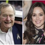 Actress Accuses George H.W. Bush Of Touching Her From Behind