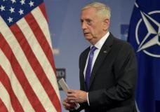 U.S. Secretary of Defence Jim Mattis   in Brussels, Belgium June 29, 2017. REUTERS/Eric Vidal