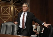 In this Nov. 29, 2017 photo, Senate Health, Education, Labor and Pensions Committee member Sen. Al Franken, D-Minn., arrives at a Senate Health, Education, Labor and Pensions Committee hearing on Capitol Hill in Washington. An Army veteran has accused Franken of inappropriately touching her more than a decade ago while she was on a military deployment to Kuwait. (AP Photo/Carolyn Kaster)