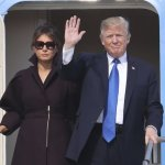 Trump Lands In South Korea To Pressure The North