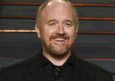 "FILE - In this Feb. 28, 2016 file photo, Louis C.K. arrives at the Vanity Fair Oscar Party in Beverly Hills, Calif. The New York premiere of Louis C.K.'s controversial new film ""I Love You, Daddy"" has been canceled amid swirling controversy over the film and the comedian. (Photo by Evan Agostini/Invision/AP, File)"