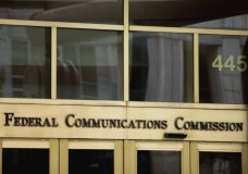 "FILE - This June 19, 2015, file photo, shows the entrance to the Federal Communications Commission building in Washington. Now that federal telecom regulators have repealed net neutrality, it may be time to brace for the arrival of internet ""fast lanes"" and ""slow lanes."" The Associated Press queried seven major internet providers about their post-net-neutrality plans, and all of them equivocated when asked if they might establish fast and slow lanes. (AP Photo/Andrew Harnik, File)"