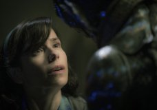 "FILE - This image released by Fox Searchlight Pictures shows Sally Hawkins, left, and Doug Jones in a scene from the film ""The Shape of Water,"" which is nominated for an Oscar for best picture. (Kerry Hayes/Fox Searchlight Pictures via AP, File)"