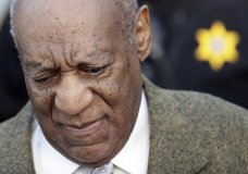 Bill Cosby arrives for a pretrial hearing in his sexual assault case at the Montgomery County Courthouse, Monday, March 5, 2018, in Norristown, Pa. (AP Photo/Matt Slocum)