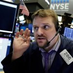 U.S. Stocks Mostly Fall In Wobbly Trading As Costs, Rates Rise