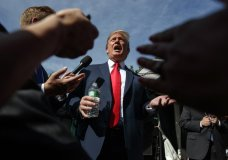 President Donald Trump speaks to reporters at the White House, Friday, June 15, 2018, in Washington. (AP Photo/Evan Vucci)