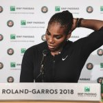 Serena Williams Out Of French Open Before Sharapova Match
