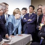 Body Language: Photo of Merkel, Trump Captures G-7 Tensions