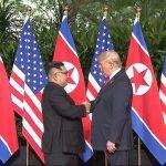 Trump, Kim Shake Hands To Open Momentous Summit