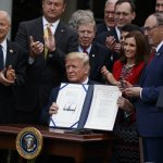 Trump Signs Bill To Expand Private Care At Troubled VA