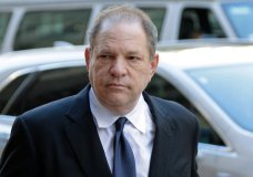"""FILe - In this July 9, 2018 file photo, Harvey Weinstein arrives to court in New York. A New York judge cited the long history of the casting couch in Hollywood as he approved for trial the sex trafficking claims of an aspiring actress against Weinstein. U.S. District Judge Robert W. Sweet said the lawsuit filed by Kadian Noble last fall was fairly brought under sex trafficking laws Congress passed that had an """"expansive"""" definition of what could be considered a """"commercial sex act."""" (AP Photo/Seth Wenig, File)"""