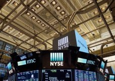 FILE- This Jan. 4, 2018, file photo shows the interior of the New York Stock Exchange. Stocks are opening higher on Wall Street on Tuesday, Aug. 7, as technology companies and banks put up some solid gains. (AP Photo/Mark Lennihan, File)