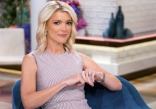 "FILE - In this Sept. 21, 2017 file photo, Megyn Kelly poses on the set of her new show, ""Megyn Kelly Today"" at NBC Studios in New York. NBC announced on Friday, Oct. 26, 2018 that ""Megyn Kelly Today"" will not return. (Photo by Charles Sykes/Invision/AP, File)"
